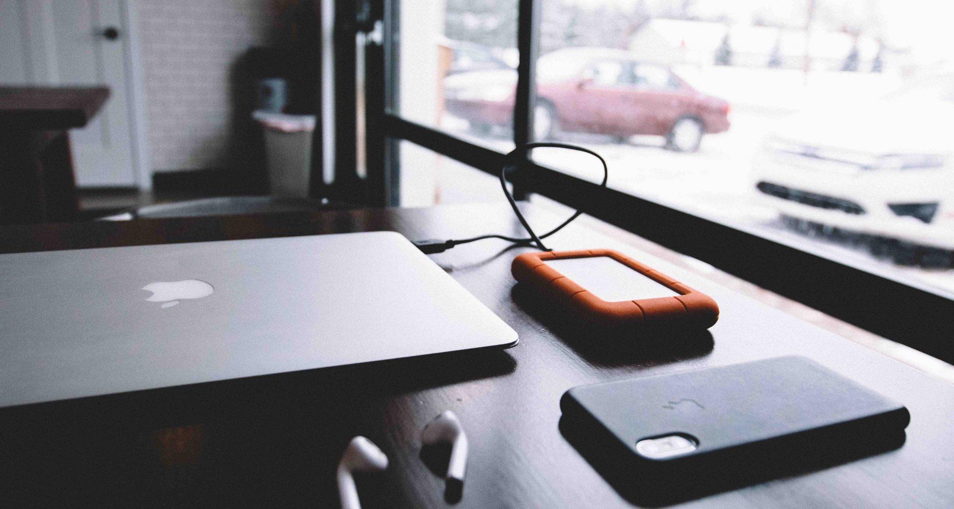 Gadgets sobre la mesa